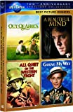 Best Picture Winners Spotlight Collection (Out of Africa / A Beautiful Mind / All Quiet on the Western Front / Going My Way) (Universal's 100th Anniversary Edition) (Bilingual)