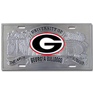 Buy Georgia Bulldogs College Collector's Plate by Siskiyou Automotive