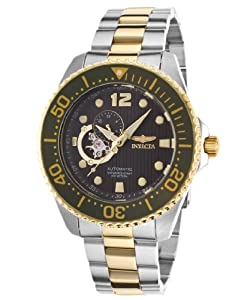 Invicta Men's 15405 Pro Diver Analog Display Japanese Automatic Two Tone Watch