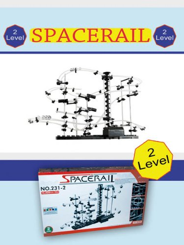 MarbleRunWorld MB447 Level 2 Spacerail Marble Run for Teenagers and Adults