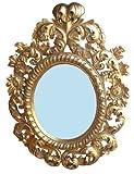 Art.149 Specchiera Barocca in Foglia Oro