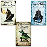 Adrian Tchaikovsky Adrian Tchaikovsky Collection 3 Books Set,(Blood of the mantis, Dragonlly Falling and Empire in Black and Gold)