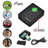 SPYCENT Very Small GPS LBS Tracker A8 Kids Elder SIM Card acivated Call Back Function On Voice Easy Control SMS Command