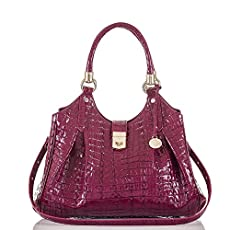 Elisa Hobo Bag<br>Boysenberry La Scala