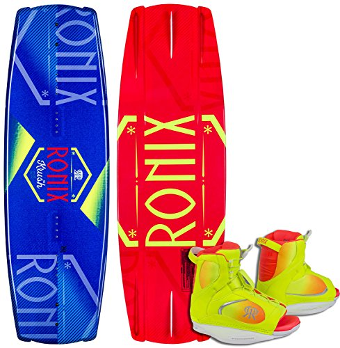 Ronix Krush Wakeboard w/ Luxe Bindings Womens Sz 134cm/(8-10.5)