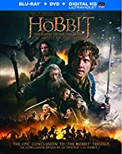 The Hobbit: The Battle of the Five Armies (Bilingual) [Blu-ray + DVD + UltraViolet]