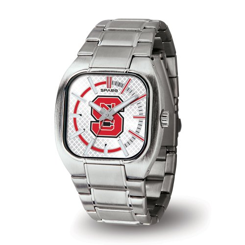 Ncaa North Carolina State Wolfpack Turbo Watch, Silver