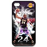 iphone4/4S protector case with Los Angeles Lakers Kobe Bryant portrait image