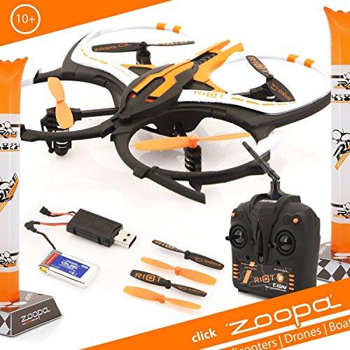 ACME-zoopa-Q-165-riot-Quadro-von-gutmtig-bis-rasant-inkl-24GHz-Fernsteuerung-Licht-360-Flipfunktion-3-Geschwindigkeiten-ZQ0166-Lieferung-aus-Deutschland
