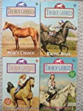 img - for Thoroughbred Set 45-48 (Star's Chance ~ Racing Image ~ Cindy's Desert Adventure ~ Cindy's Bold Start) book / textbook / text book