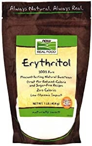 Now Foods Erythritol Natural Sweetener 1 LB