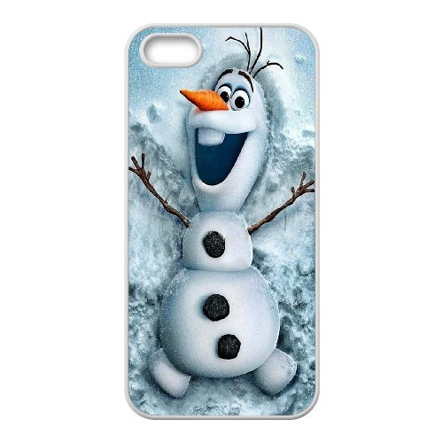 Cartoon disney frozen fever,snowman olaf, elsa and anna phone case cover For Apple Iphone 5 5S Cases LHSB9657951