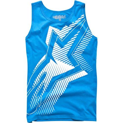 Alpinestars Twig Custom Men's Tank Fashion Shirt/Top - Blue Fade