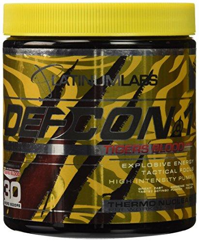 Platinum Labs DEFCON 1 2nd STRIKE (Tigers Blood) (Platinum Pre Workout Powder compare prices)