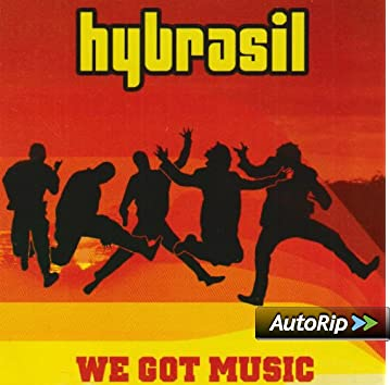 HYBRASIL - We Got Music - CD single