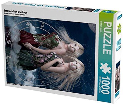 sternzeichen zwillinge 1000 teile puzzle hoch fantasy sternzeichen frauen edition calvendo. Black Bedroom Furniture Sets. Home Design Ideas