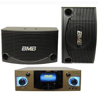 BMB DAS-300 600W Mixing Amp + CSN-455E Speaker