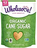 Wholesome Sweeteners Organic Fair Trade Cane Sugar, 10 Pound