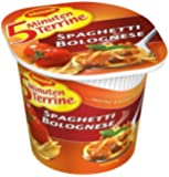 Maggi 5 Minuten-Terrine Spaghetti Bolognese, 8er Pack  (8 x 62 g Packung)