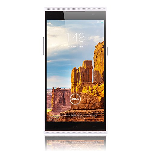 iRULU Victory 1 (V1) 5.5 Inch QHD Smartphone Android 4.4 1G RAM/8G ROM White