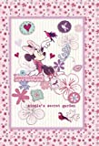 FUJICOLOR album pocket 1PL Disney Minnie Garden [300 Holds] L 201 ~ 300 pieces of character Pink 49 195 (japan import)