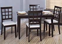 "Hot Sale 5 Piece Carey Dining Set - 30"" x 48"""
