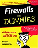 Firewalls For Dummies (For Dummies (Computers)) (0764508849) by Komar, Brian