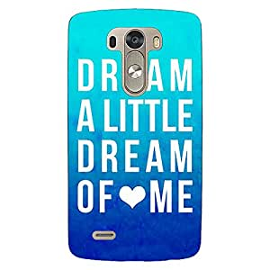 Jugaaduu Dream Love Back Cover Case For Lg G3 D855