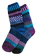 Solmate Raspberry Mismatched USA made Socks