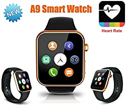New Smart watch A9 for Samsung Android Phone & Apple iPhone smartphone montre Bluetooth Smartwatch
