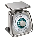 Taylor Food Service 25-Pound Analog Portion Control Scale Stainless Steel