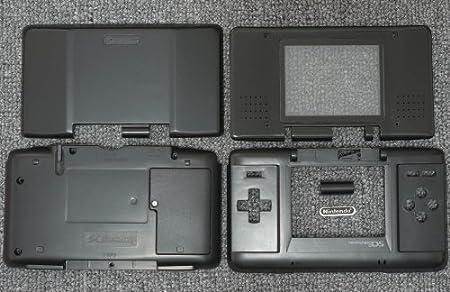 Black Original Nintendo DS Complete Full Housing Shell Case Replacement Repair Fix [video games]