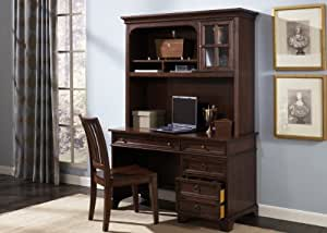 Beacon Home Office Cherry Writing Desk Hutch