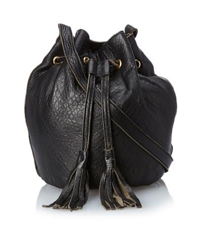 gorjana Women's Cassidy Canyon Bucket Bag, Black