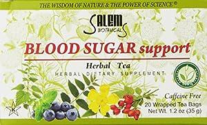 Salem Botanicals Herbal Tea, Blood Sugar Support, 20 Count