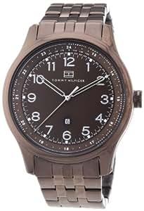 Tommy Hilfiger Watches Herren-Armbanduhr XL Analog Edelstahl beschichtet 1710312