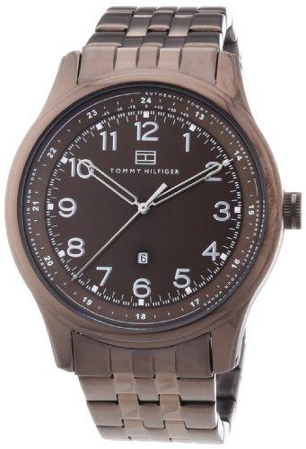 Tommy Hilfiger Watches Herren-Armbanduhr XL Analog Edelstahl beschichtet 1710312 thumbnail