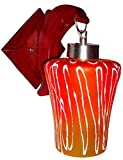 Rck Products Wall Lamp(Red-Yellow)