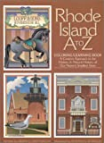 Rhode Island A to Z: Coloring/Learning Book