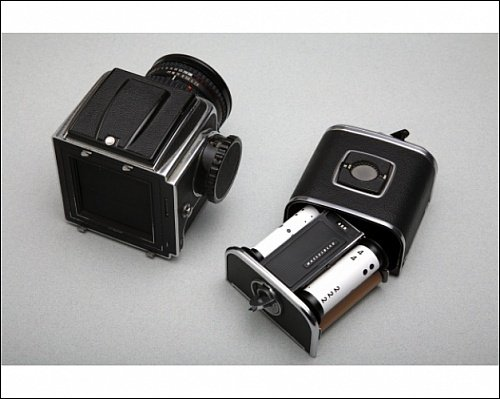Photographic Print of Medium format film camera from Science Photo Library