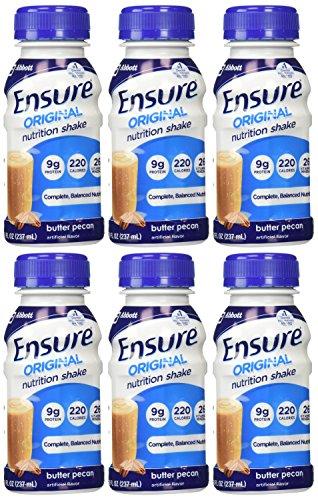 ensure-original-nutrition-shake-butter-pecan-6-ct