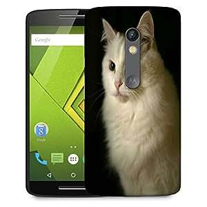 Snoogg Persian Cat Designer Protective Phone Back Case Cover For Lenovo Motorola Moto G4