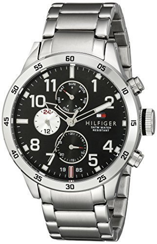 Tommy-Hilfiger-Mens-1791141-Cool-Sport-Analog-Display-Quartz-Silver-Watch