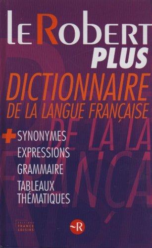 telecharger livre gratuit en francais pdf le robert plus dictionnaire de la langue fran aise. Black Bedroom Furniture Sets. Home Design Ideas