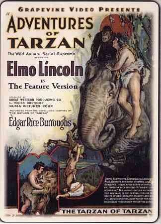 Adventures of Tarzan Feature Version [DVD] [1928] [Region 1] [US Import] [NTSC]