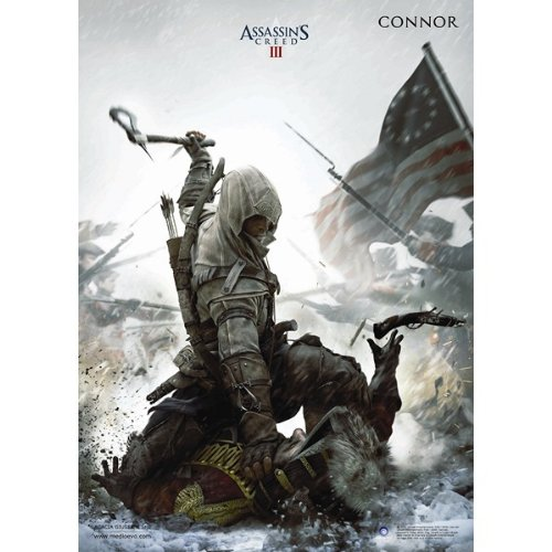 Assassin's Creed III 3 Connor Kenway Figure Poster 70x100