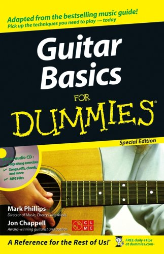 guitar basics for dummies r jon chappell used books from thrift books. Black Bedroom Furniture Sets. Home Design Ideas