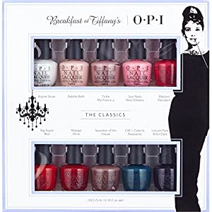 OPI Breakfast at Tiffany's Nail Gift Set 10 Mini Lacquers