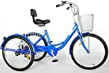 "24"" Adult Tricycle 6 Speed Trike"