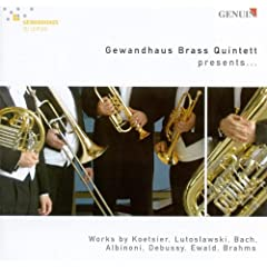 Brass Quintet No. 3 in D-Flat Major, Op. 7: III. -